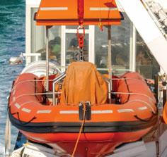 lifeboats davits